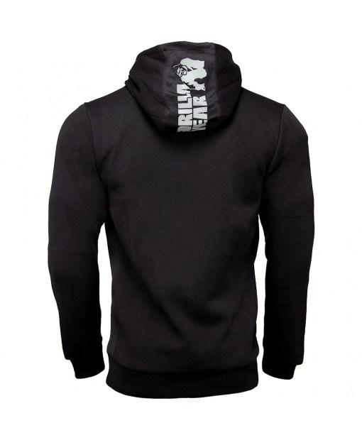 Куртка Bowie Mesh Zipped Hoodie Black2