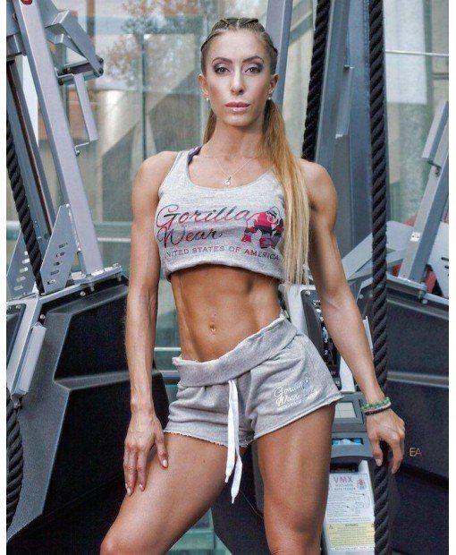 Шорты Women's New Jersey Sweat Shorts Grey