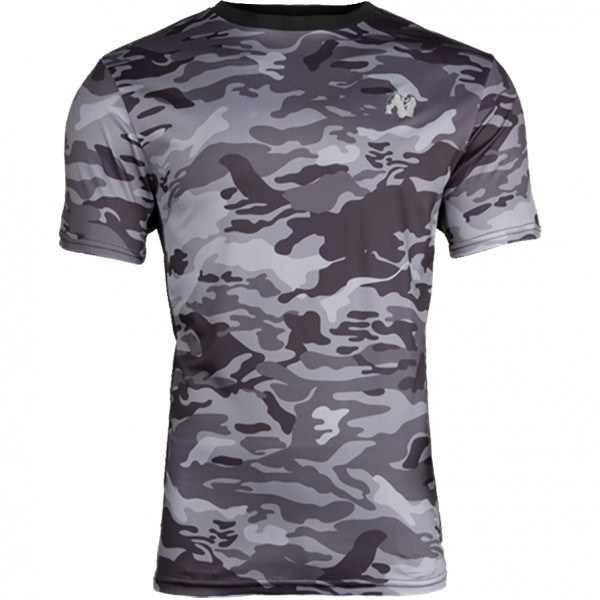 Футболка Kansas T-shirt Black/Gray Camo