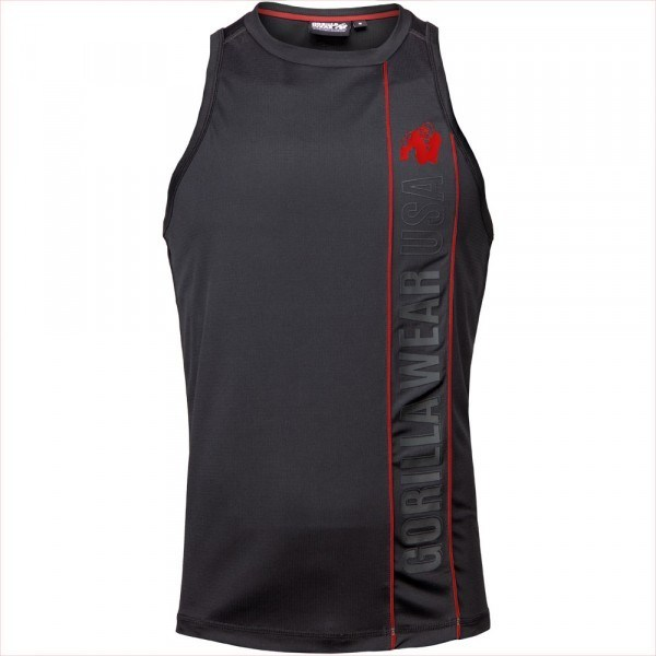 Безрукавка Branson Tank Top  Black/Red