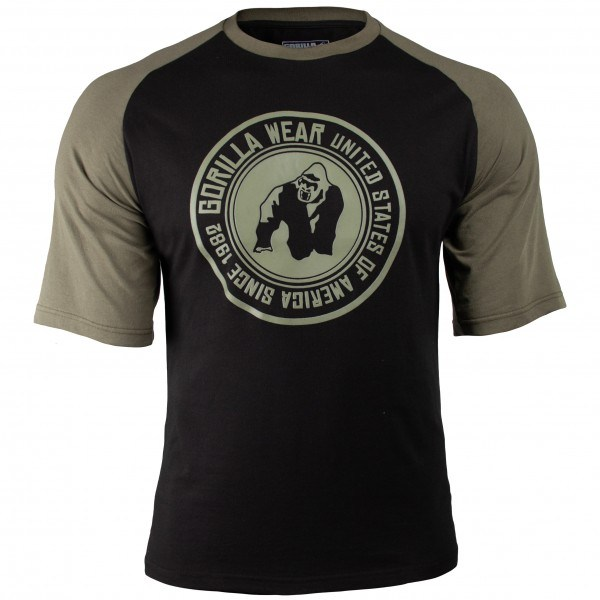 Футболка Texas T-shirt Black/Army Green