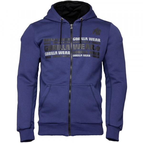 Куртка Bowie Mesh Zipped Hoodie Navy Blue
