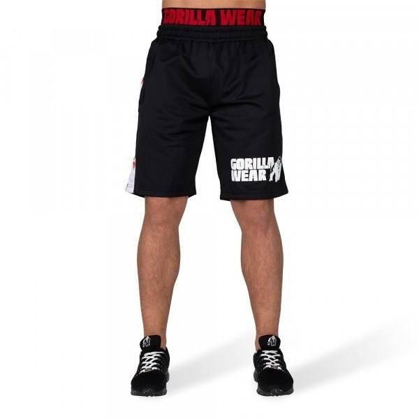 Шорты California Mesh Shorts Black/Red