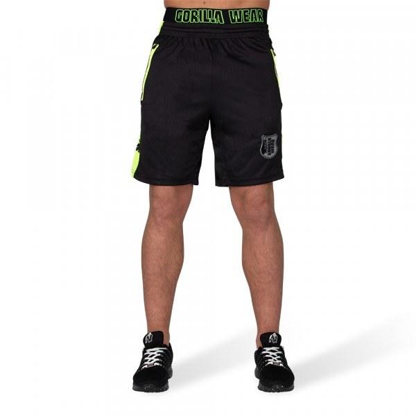 Шорты Shelby Shorts Black/Neon Lime