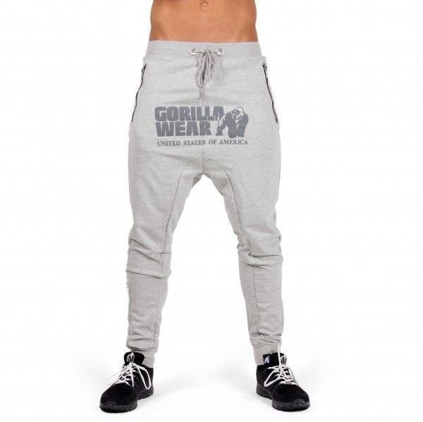Брюки Alabama Drop Crotch Joggers Gray
