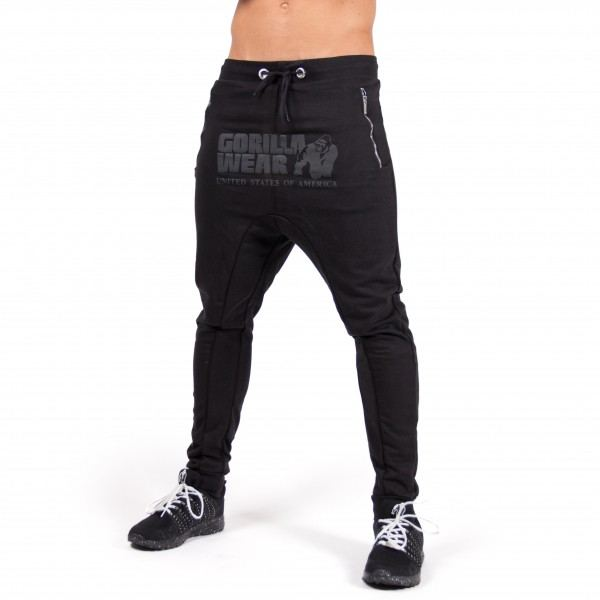 Брюки Alabama Drop Crotch Joggers Black