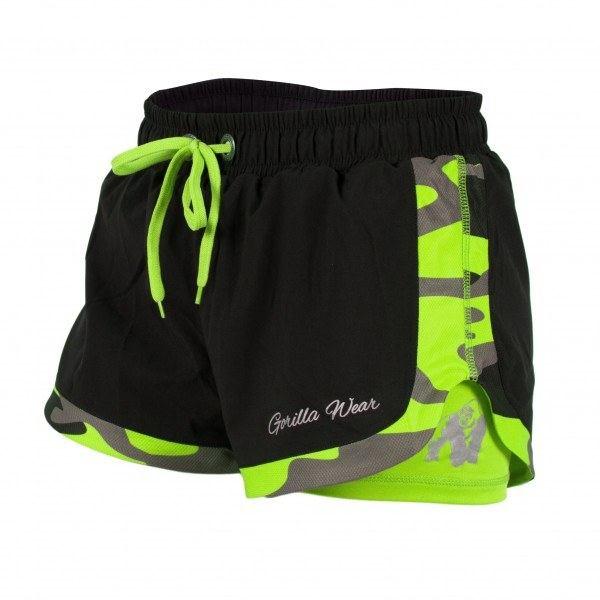 Шорты Denver Shorts Black/Neon Lime