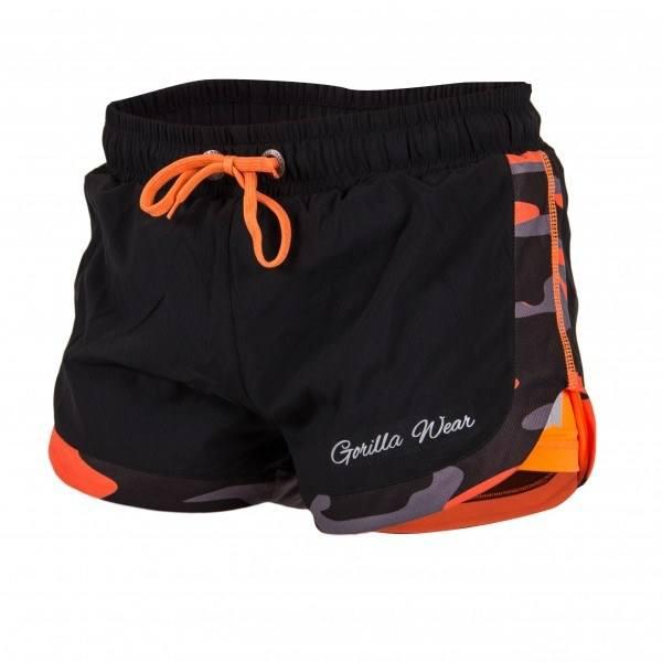 Шорты Denver Shorts Black/Neon Orange