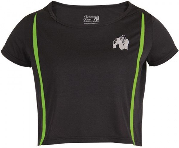 Топ Columbia Crop Top Black/Neon Lime