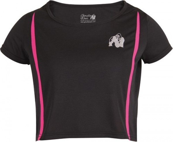 Топ Columbia Crop Top Black/Pink