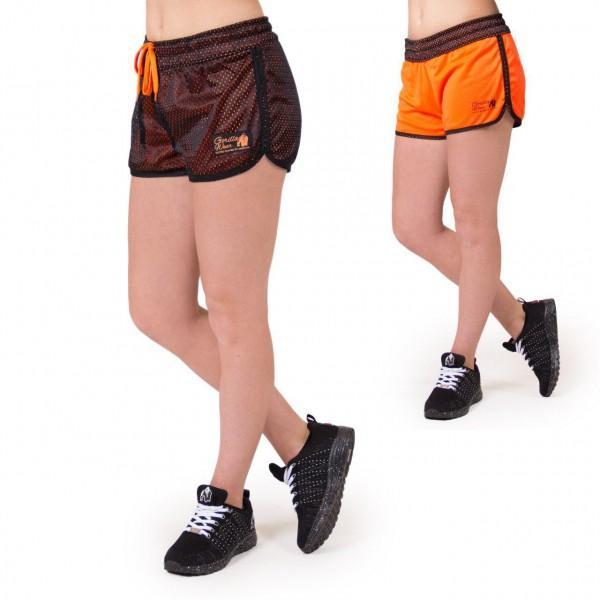 Шорты Madison Reversible Shorts Black/Neon Orange