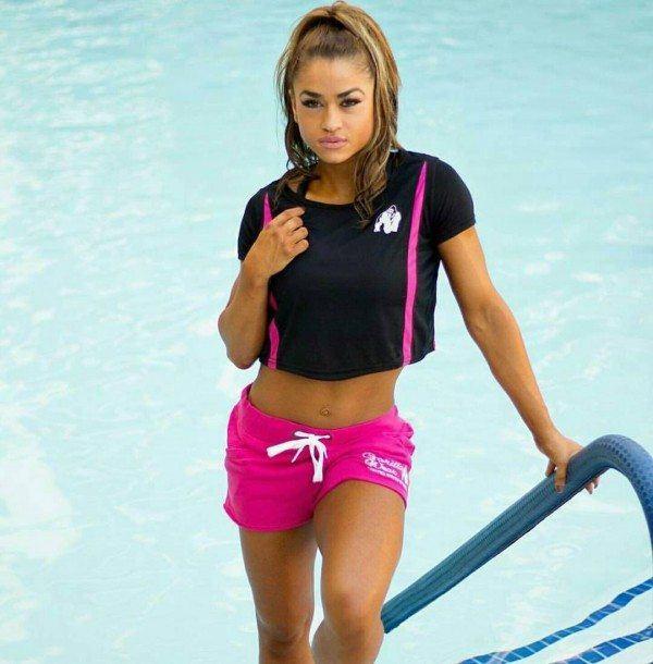 Шорты Women's New Jersey Sweat Shorts Pink