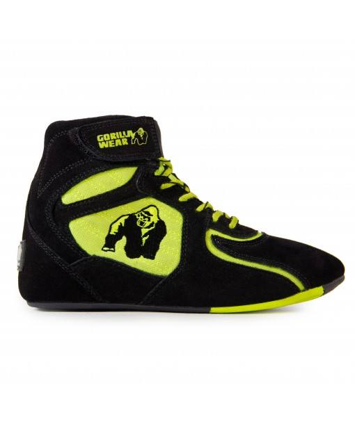 Кроссовки Chicago High Tops - Black/Neon Lime