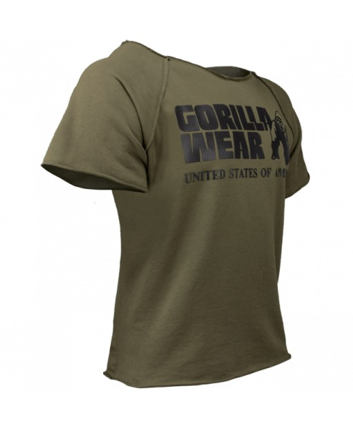 Футболка Classic Work Out Top Army Green