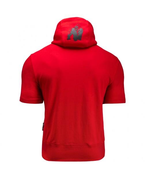 Свитшот Boston Short Sleeve Hoodie Red