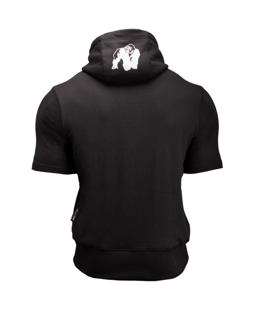 Свитшот Boston Short Sleeve Hoodie Black