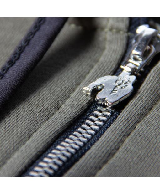 Свитшот Springfield S/L Zipped Hoodie Army Green