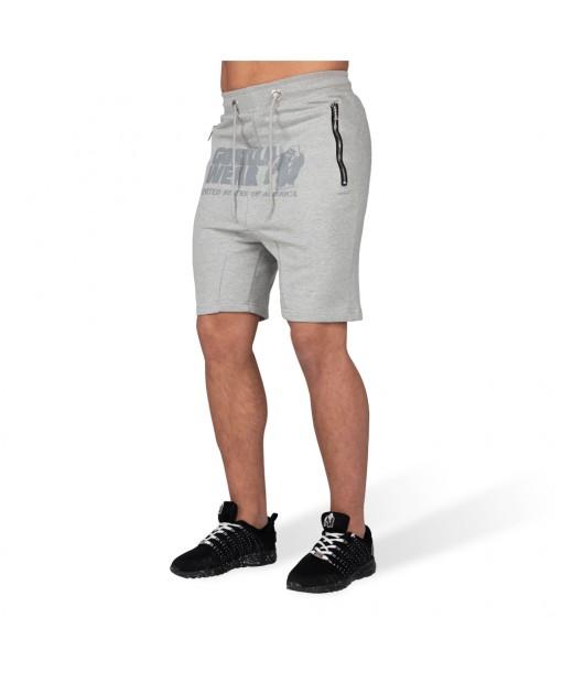 Шорты Alabama Drop Crotch Shorts Gray