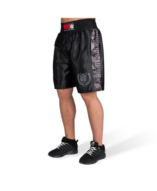 Шорты Vaiden Boxing Shorts - Black/Gray Camo