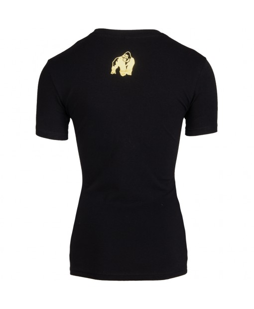 Luka T-shirt Black/Gold