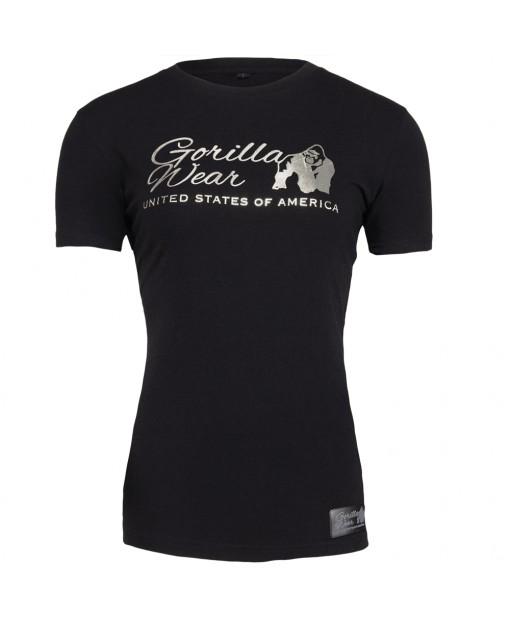 Luka T-shirt Black/Silver