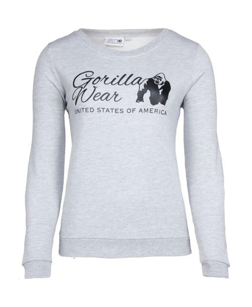 Riviera Sweatshirt Light Light Gray
