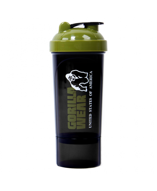 Shaker Compact Black/Army Green