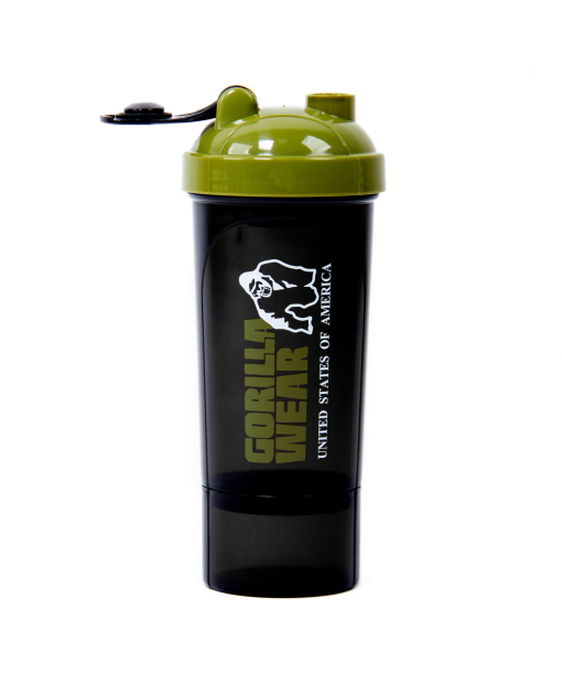 Shaker Compact Black/Army Green 2