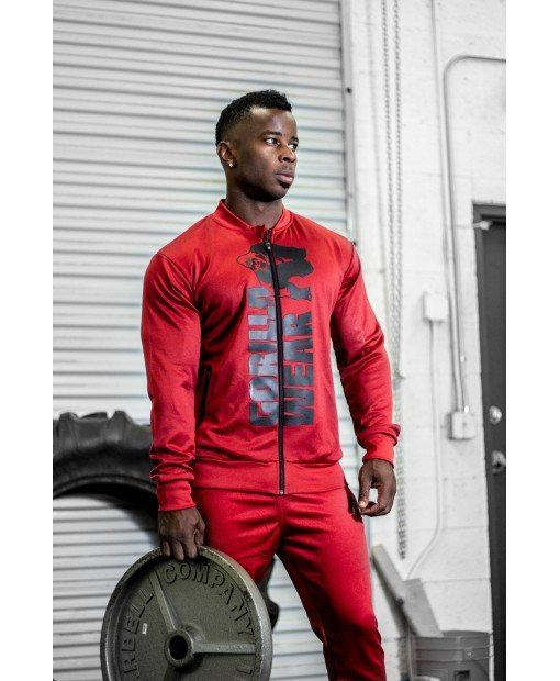 Куртка Ballinger Track Jacket Army Red/Black 1