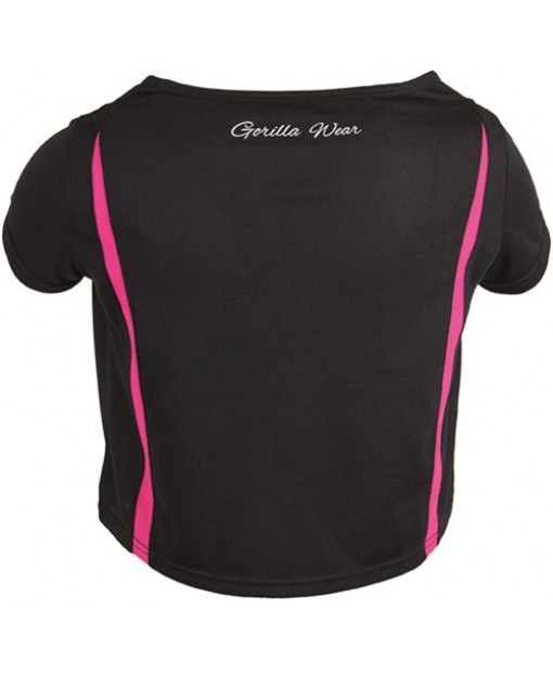 Топ Columbia Crop Top Black/Pink