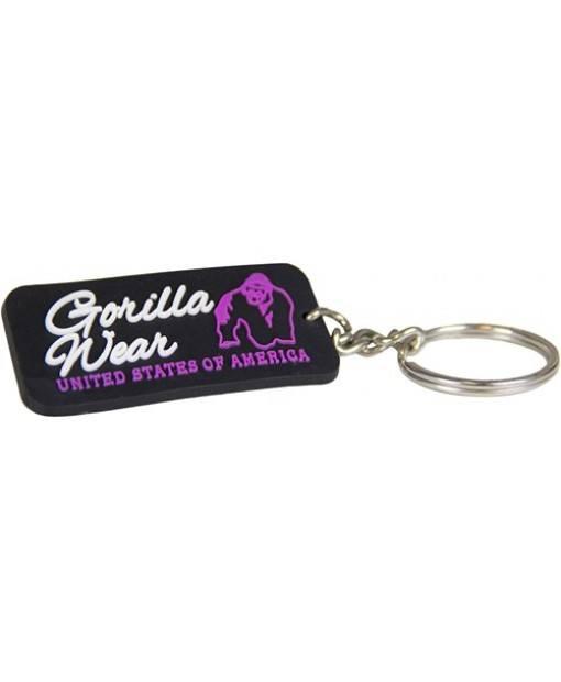 GW Rubber Women Logo Keychain