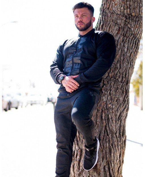 Куртка Ballinger Track Jacket Army Black/Black 1