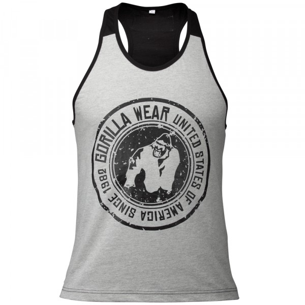Майка Roswell Tank Top Gray/Black