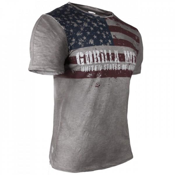 Футболка Gorilla Wear USA Flag Tee