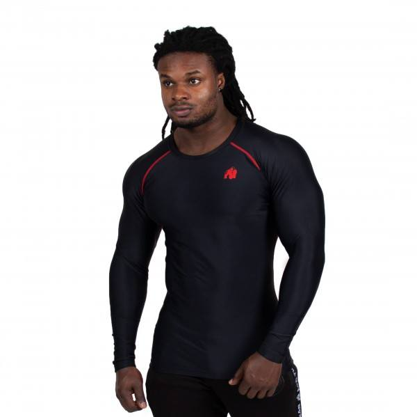 Hayden Compression Longsleeve Black/Red