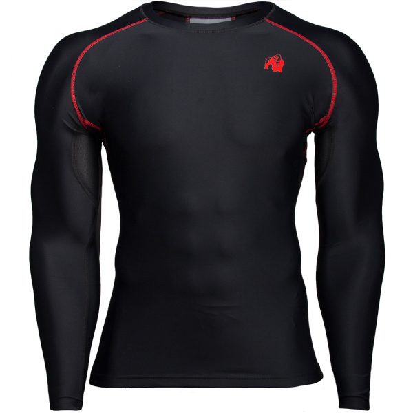 Рашгард Hayden Compression Longsleeve Black/Red
