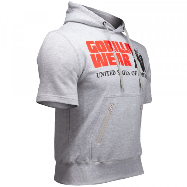 Свитшот Boston Short Sleeve Hoodie Grey