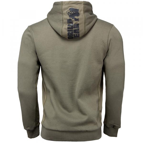 Куртка Bowie Mesh Zipped Hoodie Army Green