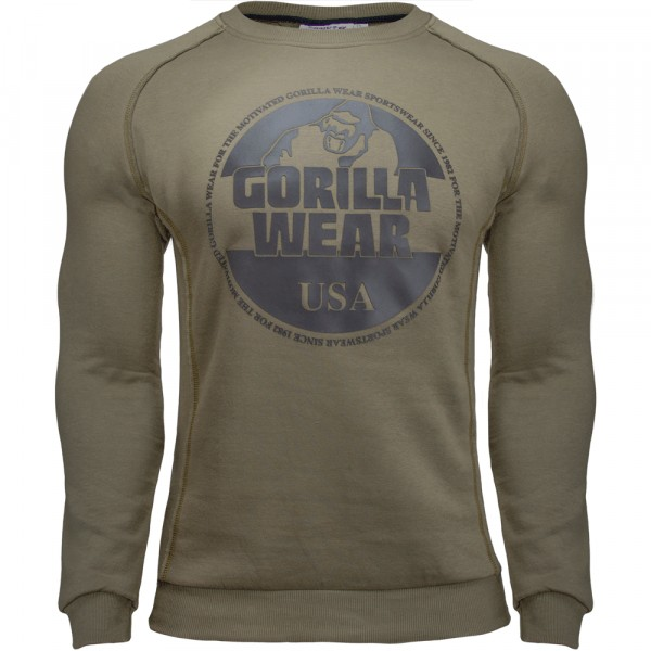 Свитшот Bloomington Crewneck Sweatshirt Army Green