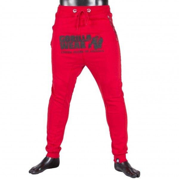 Брюки Alabama Drop Crotch - Red