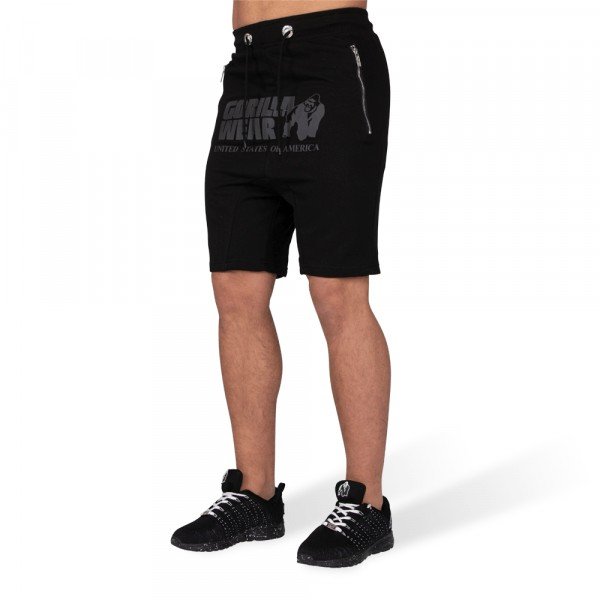 Шорты Alabama Drop Crotch Shorts Black