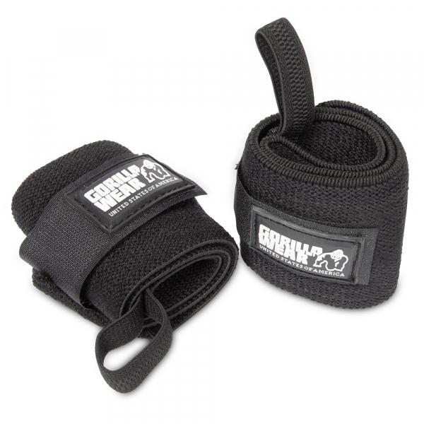 Кистевые бинты Wrist Wraps BASIC Black