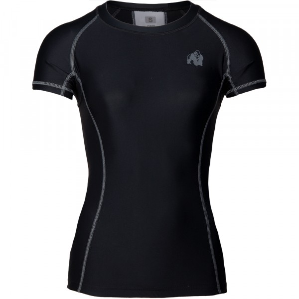 Carlin Compression Short Sleeve Top