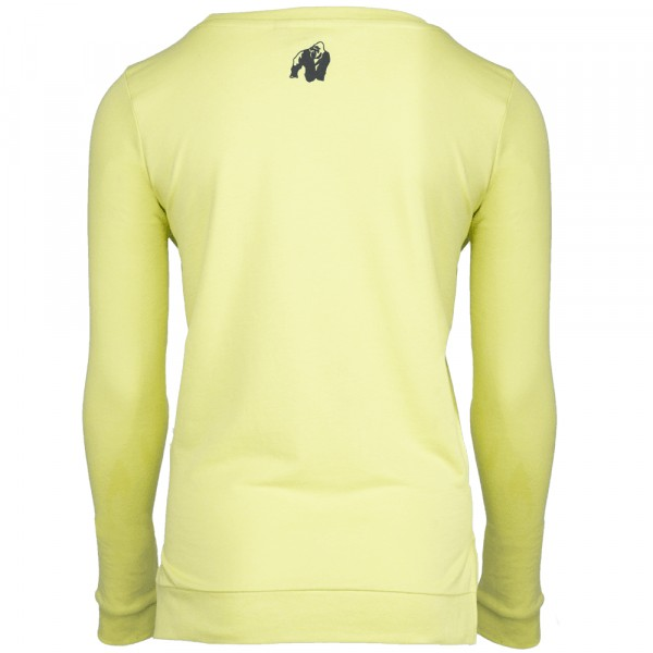Riviera Sweatshirt Light Yellow