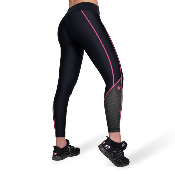 Леггинсы Carlin Compression Tight Black/Pink