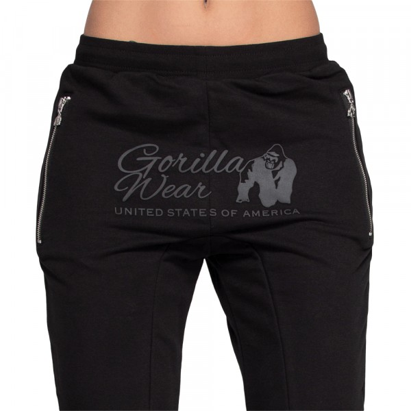 Celina Drop Crotch Joggers Black
