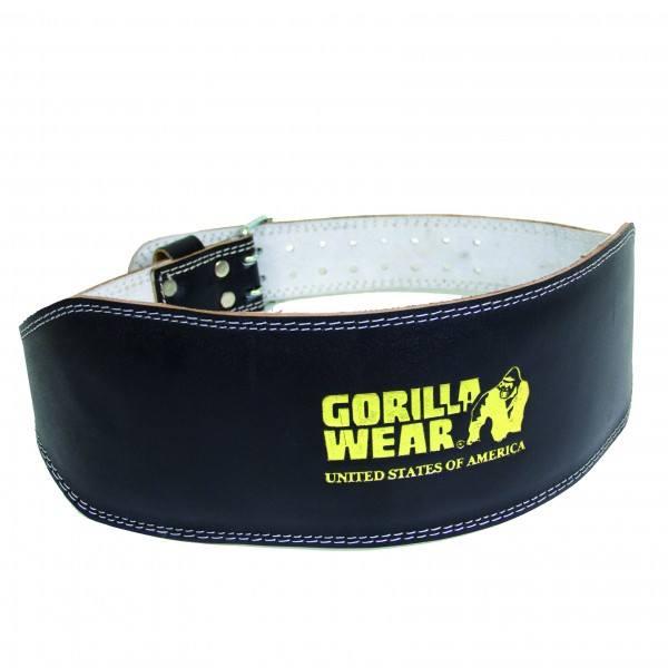 Пояс Full Leather Padded Belt Black