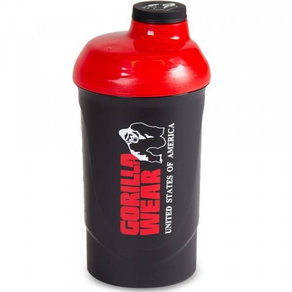 Шейкер Gorilla Wear 600ML Black/Red