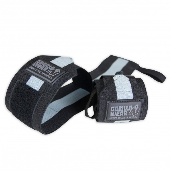 Кистевые бинты Wrist Wraps Ultra Black/Gray