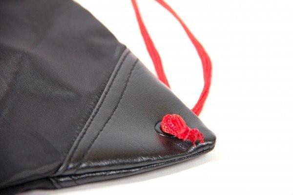 Сумка GORILLA WEAR DRAWSTRING BAG BLACK/RED
